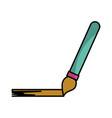 paint brush draw vector image