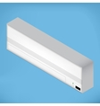 White isometric Airconditioner vector image vector image