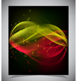 abstract glowing background vector image vector image