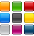Square color icons vector image