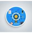 Management concept vector image