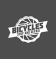 mountain bike badges vector image