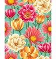 MoreFlowersFloral Seamless Patterns vector image vector image