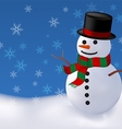 snowman2 vector image vector image