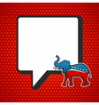 USA elections Republican politic message vector image