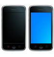 2 Phones vector image