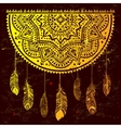 Ethnic American Indian Dream catcher vector image