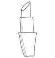 lipstick cosmetic accessory vector image