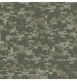 Military woods camouflage vector image