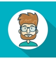 character guy avatar internet graphic vector image