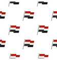 egyptian wavy flag pattern seamless vector image