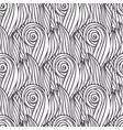 wavy pattern handmade doodle wave seamless vector image