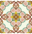 Seamless tiled pattern design vector image