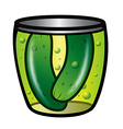 pickles vector image