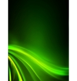 abstract green lights background eps 8 vector image