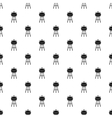 Barbecue pattern simple style vector image