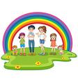 Family member vector image