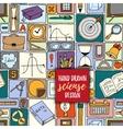 Math backdrop Education background design vector image