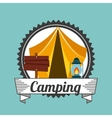 camping trip design vector image