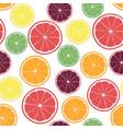 with citrus oranges lemons vector image