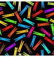 Seamless clothespin vector image