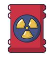 barrel danger icon cartoon style vector image