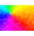 Polygonal Background for webdesign - Rainbow vector image