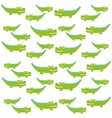 crocodile cute isolated icon vector image