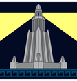 lighthouse of alexandria third variant vector image vector image