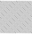 design seamless warped geometric pattern vector image