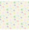 Flower Pattern Color 04 vector image