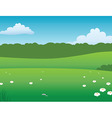 prairie background vector image vector image