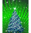 beautiful christmas vector image