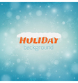 Blurred christmas background with bokeh and vector image
