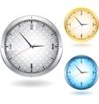 Nice clocks vector image