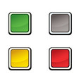 button set icon design elements vector image