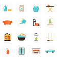 Housekeeping Icons vector image