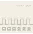 column border vector image