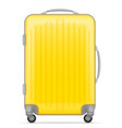 plastic travel bag vector image