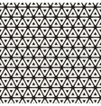 Seamless Black And White Rounded Triangle vector image