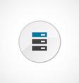 server icon 2 colored vector image