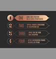 set of infographic design vintage arrows banners vector image