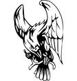 raven - halloween set - vector image