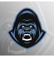 Angry Gorilla symbol emblem sport logo vector image