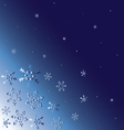 abstract-winter-background vector image vector image