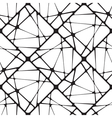 Broken Tiles Seamless Pattern Background vector image