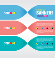 Colorful Banners EPS10 vector image