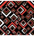seventies square vector image