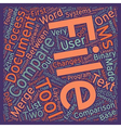 Compare Two Text Files text background wordcloud vector image