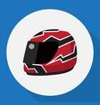 of healthy symbol on racing vector image